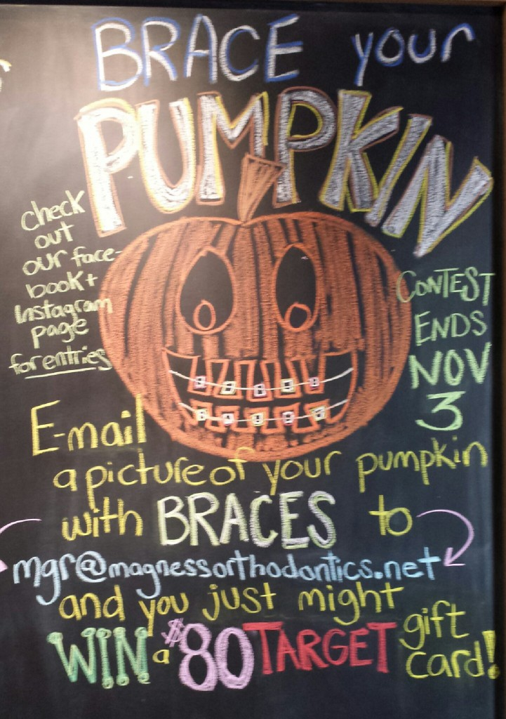 brace your pumpkin contest!