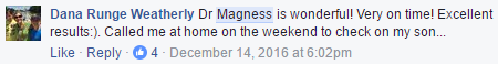 Magness Review - Dana Weatherly